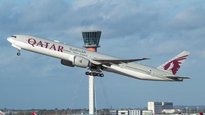 A7-BAO - Boeing 777-3DZER - Qatar Airways
