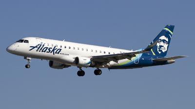 A picture of N620QX - Embraer E175LR - Alaska Airlines - © Jeremy D. Dando