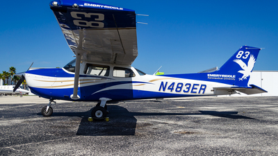 N483ER - Cessna 172S Skyhawk SP - Embry-Riddle Aeronautical University (ERAU)