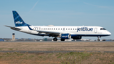 A picture of N258JB - Embraer E190AR - JetBlue Airways - © Yan777