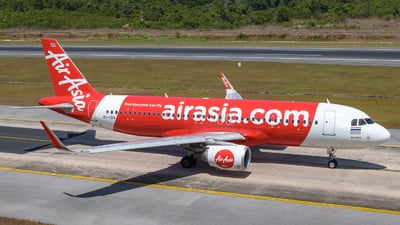 A picture of HSCBA - Airbus A320216 - AirAsia - © Alexander Listopad