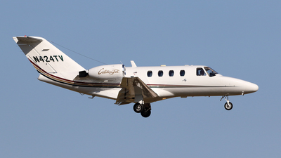 N424TV - Cessna 525 CitationJet - Private