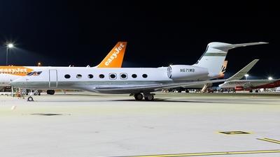 N671WB - Gulfstream G650ER - Private