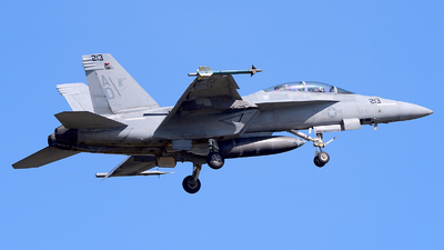166672 - Boeing F/A-18F Super Hornet - United States - US Navy (USN)