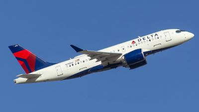 A picture of N110DU - Airbus A220100 - Delta Air Lines - © Matthew Scott