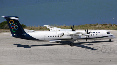 SX-OBF - Bombardier Dash 8-Q402 - Olympic Air