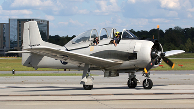 N9868A - North American T-28D Trojan - Private