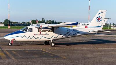 HB-LUN - Partenavia P.68C Victor - Swiss Flight Services (SFS)