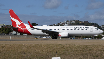 A picture of VHXZH - Boeing 737838 - Qantas - © Orson Downes