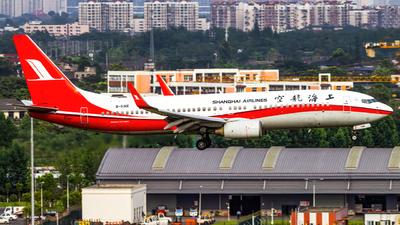 B-5316 - Boeing 737-86D - Shanghai Airlines