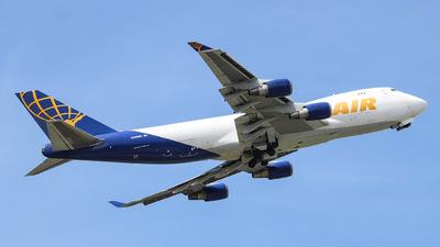 A picture of N493MC - Boeing 74747U(F) - Atlas Air - © Martin Tomanov