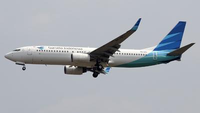 PK-GFI - Boeing 737-86N - Garuda Indonesia