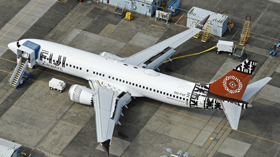 DQ-FAF - Boeing 737-8 MAX - Fiji Airways