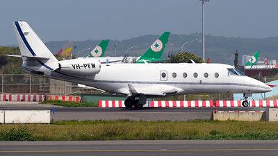 VH-PFW - Gulfstream G150 - Private