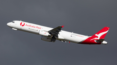VH-ULD - Airbus A321-231P2F - Qantas Freight (Express Freighters Australia)