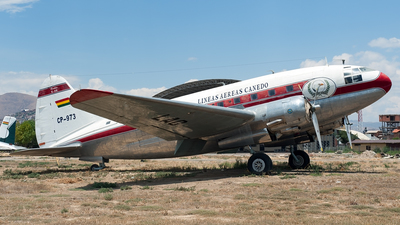 CP-973 - Curtiss C-46D Commando - Lineas Aereas Canedo