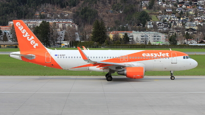G-EZOY - Airbus A320-214 - easyJet