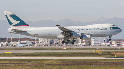 B-HUO - Boeing 747-467F(SCD) - Cathay Pacific Airways