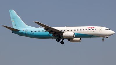 A picture of VTSXB - Boeing 7378K9 - SpiceJet - © Aashay Bapaye