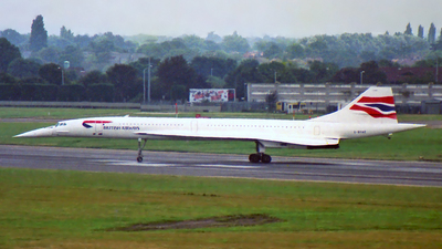 G-BOAE - Aérospatiale/British Aircraft Corporation Concorde - British Airways