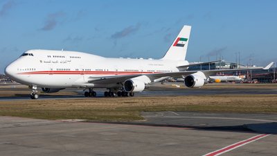 A6-HMM - Boeing 747-48E(M) - United Arab Emirates - Dubai Air Wing