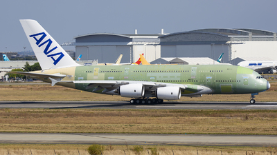 F-WWSH - Airbus A380-841 - Airbus Industrie