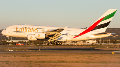 A picture of A6EDN - Airbus A380861 - Emirates - © Joel Baverstock