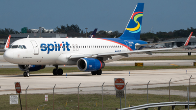 A picture of N639NK - Airbus A320232 - Spirit Airlines - © Matthew Calise