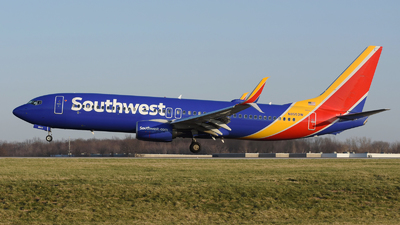 A picture of N8553W - Boeing 7378H4 - Southwest Airlines - © DJ Reed - OPShots Photo Team