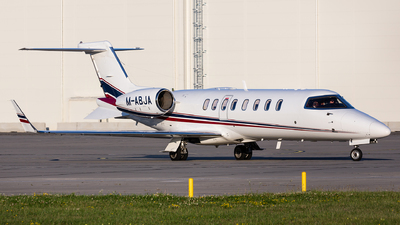A picture of MABJA - Learjet 45 - Ryanair - © Thomas Ernst