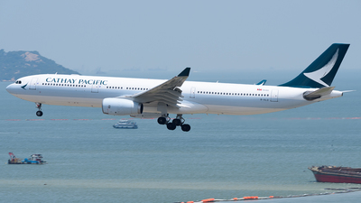 B-HLD - Airbus A330-342 - Cathay Pacific Airways