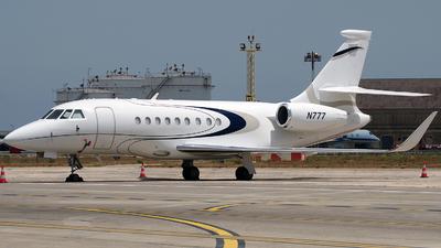 N777 - Dassault Falcon 2000EX - Private