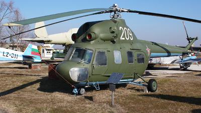 209 - PZL-Swidnik Mi-2 Hoplite - Bulgaria - Air Force