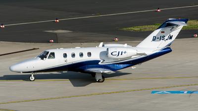 D-ISJM - Cessna 525 CitationJet 1 Plus - Private