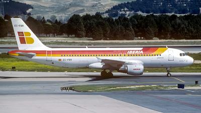 EC-FBR - Airbus A320-211 - Iberia