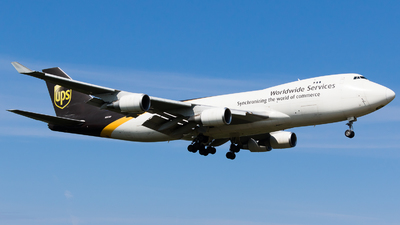 N583UP - Boeing 747-4R7F(SCD) - United Parcel Service (UPS)