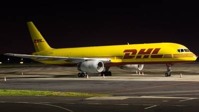 A picture of GDHKE - Boeing 75723N(PCF) - DHL - © Stefan Mieszkowski