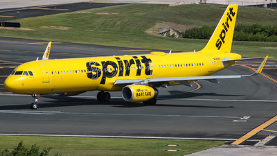 A picture of N686NK - Airbus A321231 - Spirit Airlines - © Yenzell A. López Amador
