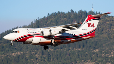 N374AC - British Aerospace Avro RJ85 - AeroFlite