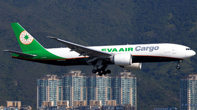 A picture of B16783 - Boeing 777F5E - EVA Air - © Clyde-