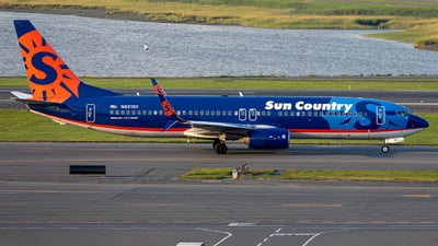 A picture of N821SY - Boeing 7378FH - Sun Country Airlines - © OCFLT_OMGcat