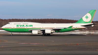 B-16410 - Boeing 747-45E - Eva Air