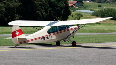 A picture of HBETF - Aeronca 7AC Champion - [7AC1792] - © Alexandre Fazan