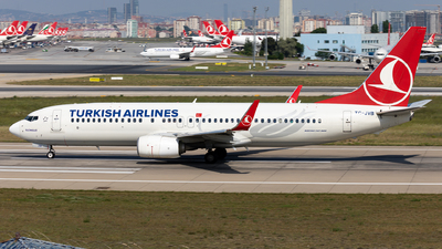 TC-JVB - Boeing 737-8F2 - Turkish Airlines