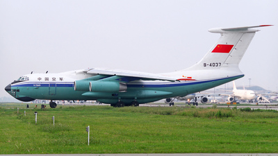 B-4037 - Ilyushin IL-76MD - China - Air Force