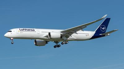 F-WZGO - Airbus A350-941 - Lufthansa