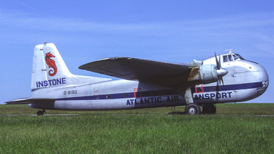 G-BISU - Bristol 170 Freighter Mk.31M - Atlantic Air Transport