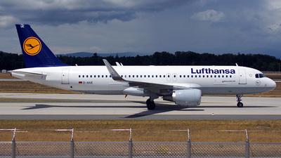 D-AIUE - Airbus A320-214 - Lufthansa