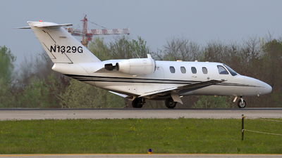 N1329G - Cessna 525 CitationJet 1 - Private