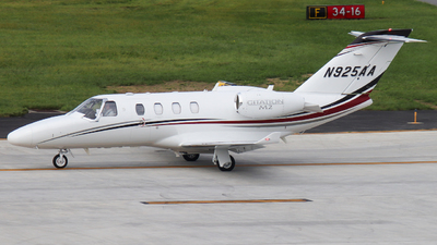 N925AA - Cessna 525 CitationJet M2 - Private